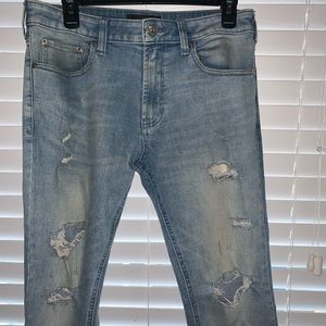 Pacsun ripped jeans used!